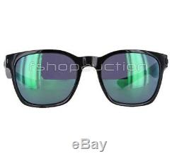 Oakley OO 9175-04 GARAGE ROCK Polished Black Jade Iridium Mens Sunglasses New