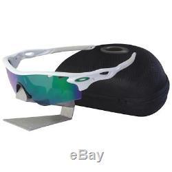 Oakley OO 9181-05 RADARLOCK PATH Polished White Jade Iridium Mens Sunglasses