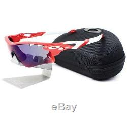 Oakley OO 9181-16 RADARLOCK PATH VENTED Positive Red Iridium Mens Sunglasses