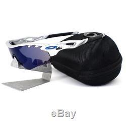 Oakley OO 9181-21 RADARLOCK PATH VENTED Silver Ice Iridium VR28 Mens Sunglasses