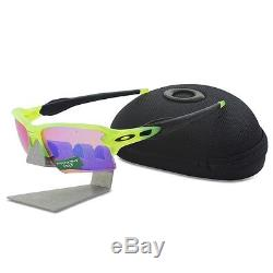 Oakley OO 9188-11 URANIUM FLAK 2.0 XL Uranium Prizm Golf Mens Sports Sunglasses