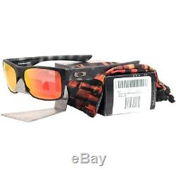 Oakley OO 9189-11 TWOFACE Matte Black Tortoise Ruby Iridium Mens Sunglasses