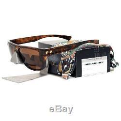 Oakley OO 9199-14 JULIAN WILSON BREADBOX Tortoise Dark Bronze Mens Sunglasses