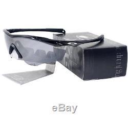 Oakley OO 9212-01 M2 FRAME Polished Black Iridium Mens Sports Cycling Sunglasses