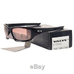 Oakley OO 9236-04 VALVE Polished Black G30 Black Iridium Mens Sports Sunglasses