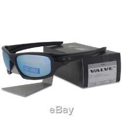 Oakley OO 9236-19 POLARIZED PRIZM VALVE Black with Deep H2O Lens Mens Sunglasses