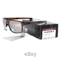 Oakley OO 9246-05 POLARIZED SLIVER F Matte Dark Amber Tungsten Mens Sunglasses