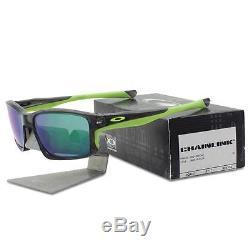Oakley OO 9247-04 CHAINLINK Grey Smoke with Jade Iridium Lens Mens Sunglasses