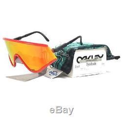 Oakley OO 9259-05 EYESHADE Heritage Collectors Red Fire Iridium Mens Sunglasses