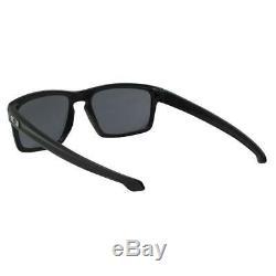 Oakley OO 9262-01 Sliver Matte Black Frame with Grey Lens Mens Sunglasses