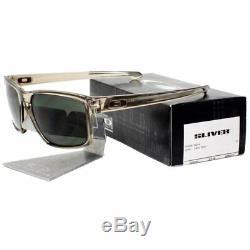 Oakley OO 9262-02 SLIVER Sepia Frame with Dark Grey Lens Mens Sunglasses