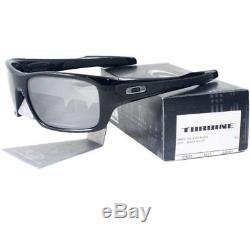 Oakley OO 9263-03 TURBINE Polished Black Frame Black Iridium Lens Men Sunglasses