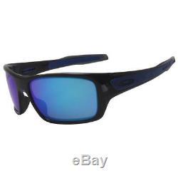 Oakley OO 9263-05 TURBINE Black Ink with Sapphire Iridium Lens Mens Sunglasses