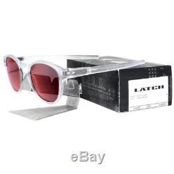 Oakley OO 9265-09 LATCH Matte Clear Frame Torch Iridium Lens Mens Sunglasses