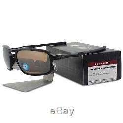 Oakley OO 9266-05 POLARIZED TRIGGERMAN Matte Black Tungsten Mens Sunglasses