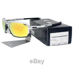 Oakley OO 9266-08 Triggerman Silver Frame with Fire Iridium Lens Mens Sunglasses