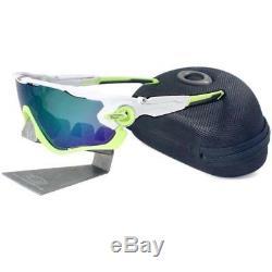 Oakley OO 9290-03 Jawbreaker Polished White Jade Iridium Mens Sport Sunglasses