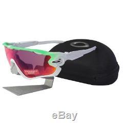 Oakley OO 9290-15 JAWBREAKER Green Fade Prizm Road Lens Mens Sport Sunglasses