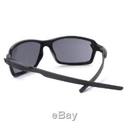Oakley OO 9302-01 CARBON SHIFT Matte Black with Grey Mens Sunglasses with Case