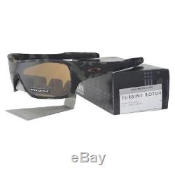 Oakley OO 9307-1732 TURBINE ROTOR Olive Camo Prizm Tungsten Mens Sunglasses