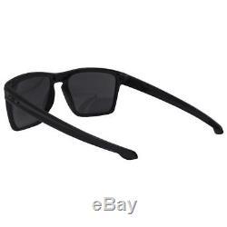 Oakley OO 9341-05 SLIVER XL Polished Black with Black Iridium Lens Mens Sunglasses