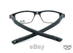 Oakley OX3128-0153 Crosslink Satin Black Eyeglasses New Authentic 53