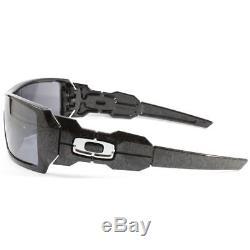 Oakley Oil Rig Black Iridium Rectangular Men's Sunglasses 0OO9081 24-058 28