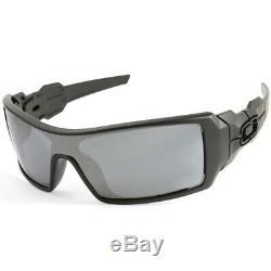 Oakley Oil Rig OO9081 03-464 Matte Black/Black Iridium Men's Sunglasses