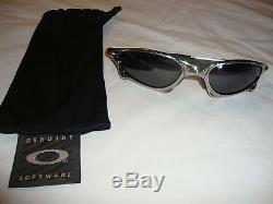 Oakley Penny Men's Sunglasses Polished GUC RARE