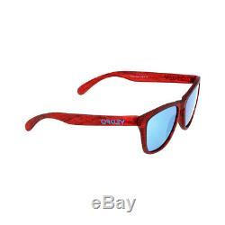 Oakley Plastic Frame Sapphire Iridium Lens Men's Sunglasses OO90139013B7