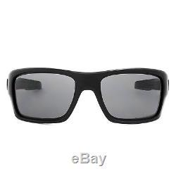 Oakley Polarized Turbine Sunglasses OO9263-07 Matte Black / Grey Polarized