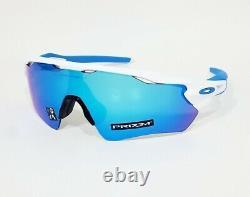 Oakley RADAR EV PATH Sunglasses OO9208-5738 Polished White With PRIZM Sapphire