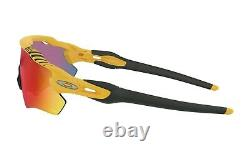 Oakley RADAR EV PATH Sunglasses OO9208-7638 Matte Yellow With PRIZM ROAD Lens TDF