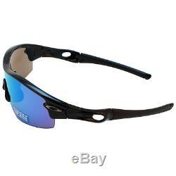 6e38017423 ... authentic oakley radar pitch prizm deep water polarized black iridium  sunglasses oo9052 02 d8c5f d5d73