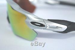 Oakley Radar EV Path Sunglasses OO9208-02 Silver Frame With Fire Iridium Lens