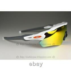 Oakley Radar EV Path Sunglasses OO9208-16 Polished White With Fire Iridium Lens