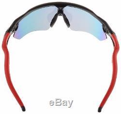 Oakley Radar EV Path Sunglasses OO9208-21 Polished Black Positive Red Iridium