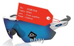 Oakley Radar EV Path sunglasses white Prizm Sapphire lens authentic OO9208-7338