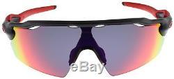Oakley Radar EV Pitch Sunglasses OO9211-02 Matte Black Ink + Red Iridium Lens