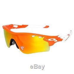 Oakley Radarlock Path Fire Iridium Polarized Asian Fit Mens Sunglasses OO9206-08