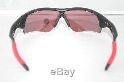 Oakley Radarlock Path Polarized Sunglasses OO9181-23 Black With Positive Red