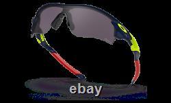Oakley Radarlock Path Sunglasses OO9206-6438 Navy Blue Frame With PRIZM Grey (AF)