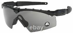 Oakley SI Ballistic M Frame 2.0 Strike Sunglasses OO9213-03 Black Grey Z87
