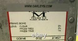 Oakley SI Ballistic M Frame 3.0, Tan, Bone Frame, 3 Lenses Clear, TR22, & TR45