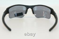Oakley SI Flak Jacket XLJ Sunglasses 11-004 Matte Black Frame With Grey Lens