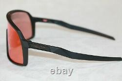 Oakley SUTRO S Sunglasses OO9462-0328 Matte Black Frame With PRIZM Trail Torch