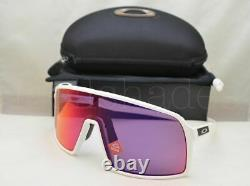 Oakley SUTRO Sunglasses OO9406-0637 Matte White Frame With PRIZM Road Lens NEW