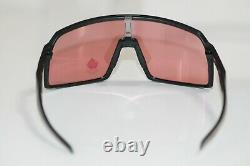 Oakley SUTRO Sunglasses OO9406-1137 Matte Black Frame With PRIZM Trail Torch NEW