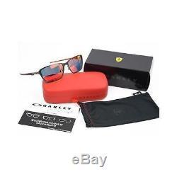 Oakley Scuderia Ferrari Tincan Carbon OO6017-07 Ruby Iridium Sunglasses