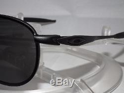 Oakley Si Ballistic Crosshair Vø Aviator Oo4069-01 Matte Black / Grey Z87